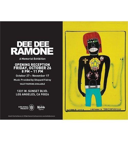 Художник Шепард Фейри открыл выставку рисунков басиста Ramones. Изображение № 8.