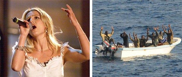 Британские военные распугивали сомалийских пиратов песнями Бритни Спирс. Изображение № 1.