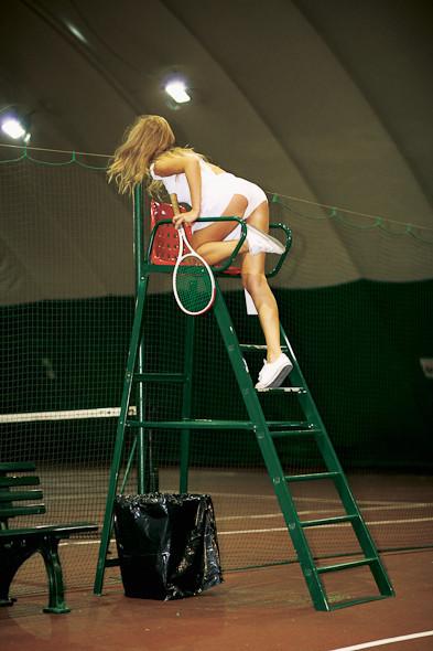 Классические формы: Теннисистка. Изображение № 11.