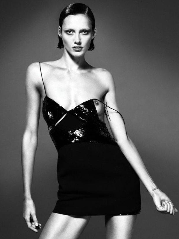Аня Рубик, Наоми Кэмпбелл и другие известные модели разделись для Interview Magazine. Изображение № 5.