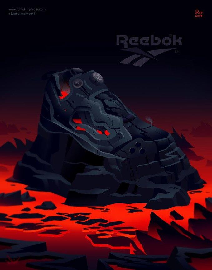 Сюрреалистический взгляд на кроссовки в проекте Sole of the Week. Изображение № 9.