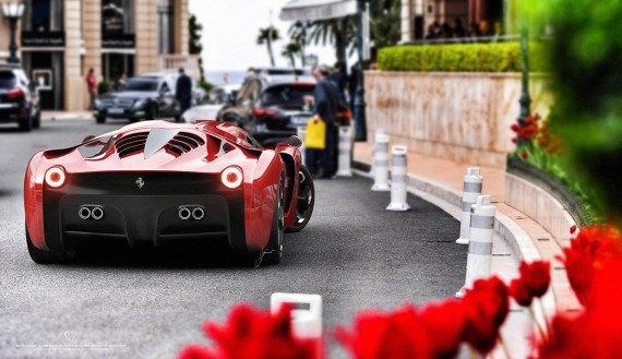 Представлен новый концепт суперкара на базе Ferrari 458 Italia. Изображение № 10.
