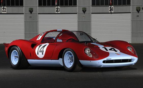 1966 Ferrari 206 S Dino Spyder . Изображение № 6.