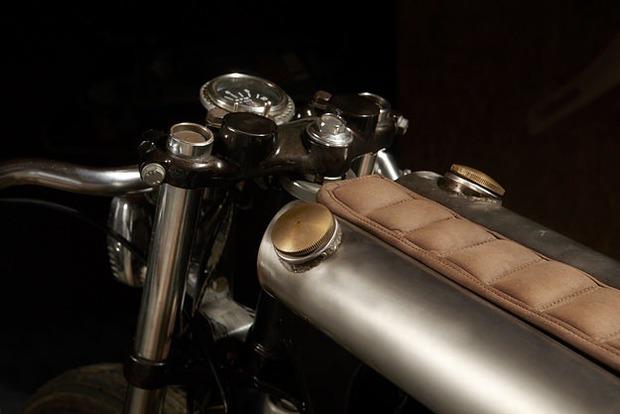 Испанская мастерская El Solitario изготовила мотоцикл Winning Loser. Изображение № 17.