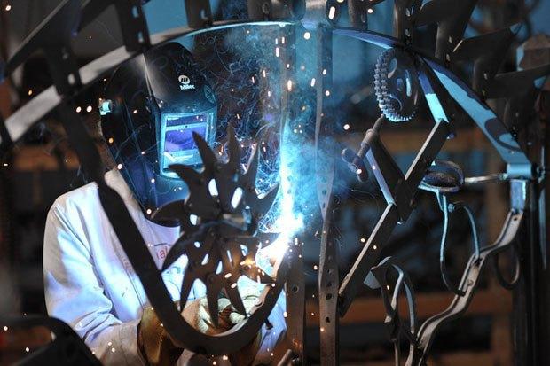 В Лондоне пройдет выставка металлических ворот, созданных Бобом Диланом. Изображение № 3.