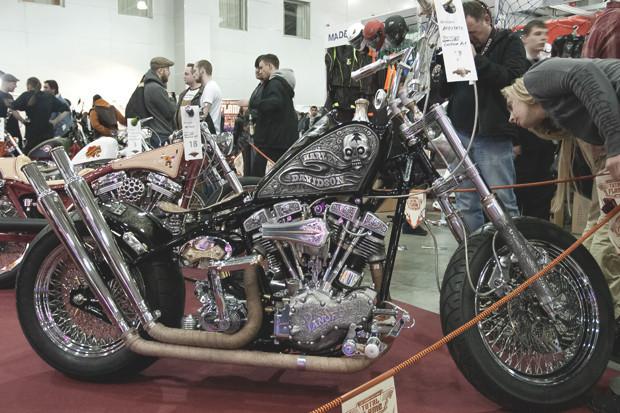 Лучшие кастомные мотоциклы выставки «Мотопарк 2012». Изображение №18.