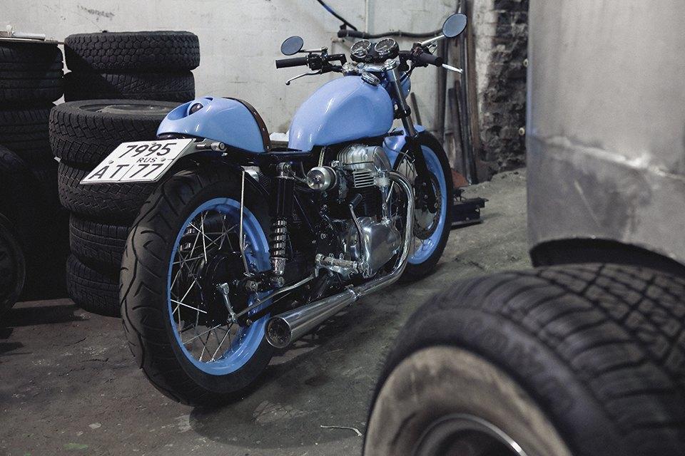 Болгарка, молоток и сварка: Интервью с  Глебом Чёрным, владельцем кастом-ателье мотоциклов . Изображение № 5.