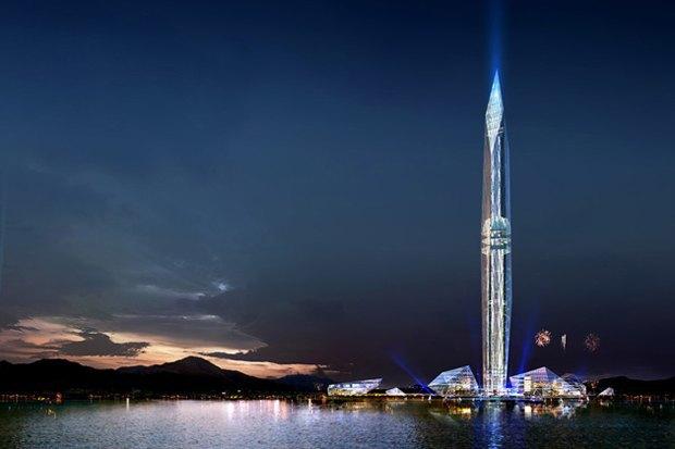 В Южной Корее построят невидимый небоскреб. Изображение № 1.