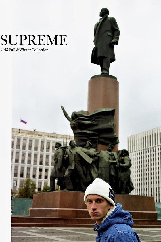 Марка Supreme опубликовала новый эдиториал, снятый в России . Изображение № 1.