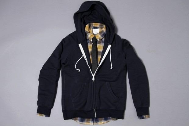 Американская марка Band of Outsiders представила осеннюю коллекцию одежды. Изображение № 1.