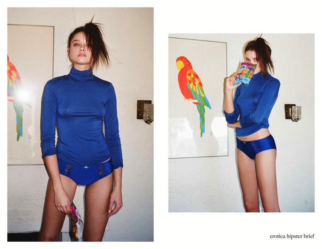 Эротический фотограф Хенрик Пурьенн снял лукбук женского белья для марки For Love & Lemons. Изображение № 8.