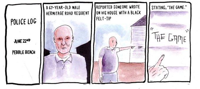 Police Log Comics: Абсурдные полицейские сводки в формате комиксов. Изображение № 3.