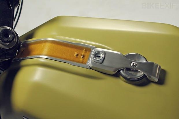 Немецкая мастерская JvB-moto выпустила каферейсер на основе Ducati Pantah. Изображение № 5.