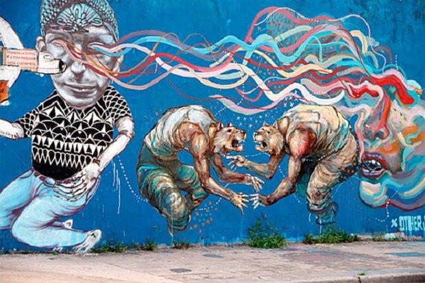 Граффити-художники подали в суд на Терри Гиллиама. Изображение № 1.