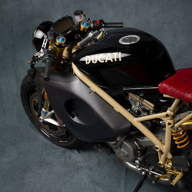 Мотоцикл Ducati 1098R мастерской Mr Martini. Изображение № 3.