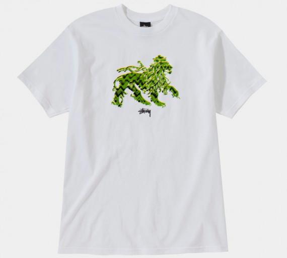 Марка Stussy выпустила весеннюю линейку футболок . Изображение № 14.