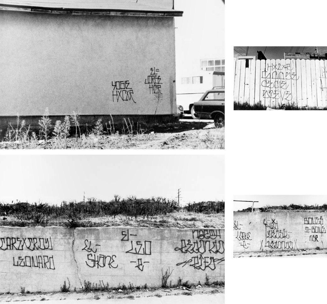 Cholo writing: Гид по граффити латинских банд Лос-Анджелеса. Изображение № 7.