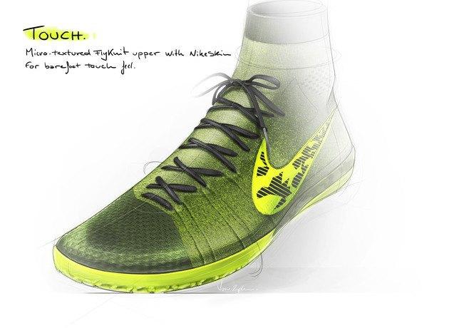 Nike представила новую версию бутс Elastico Superfly на текстильной основе. Изображение № 8.