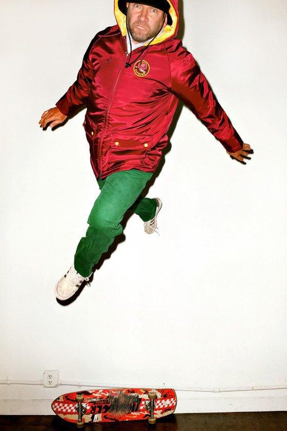 Терри Ричардсон снял Марка Гонсалеса в лукбуке марки Supreme. Изображение № 2.