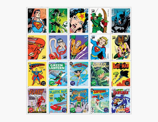Как герои поп-культуры появлялись на монетах и почтовых марках. Изображение № 5.