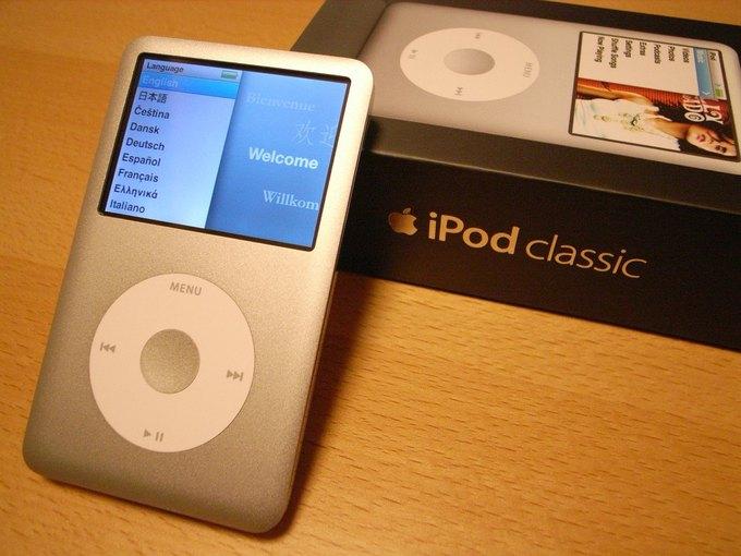 Apple прекратила выпуск классического iPod . Изображение № 1.