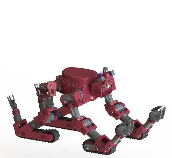 Компания DARPA изготовила гусеничного робота для Пентагона . Изображение № 2.