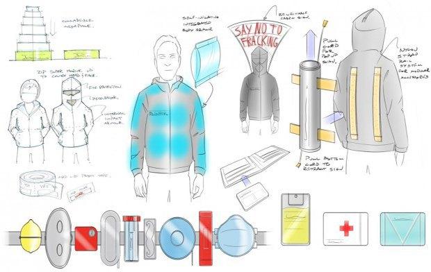 Дизайнеры разработали комплект вещей для повстанцев . Изображение № 1.