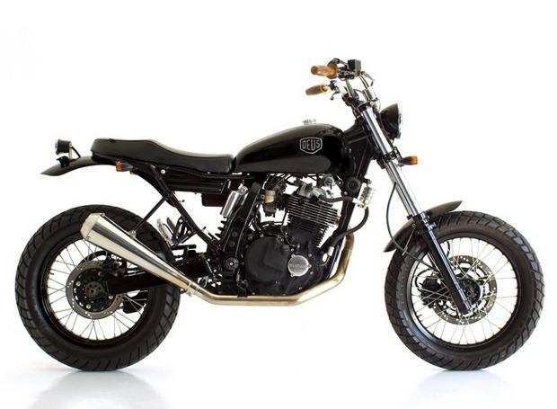 Мастерская Deus Ex Machina выпустила кастомный мотоцикл на базе Suzuki DR650. Изображение № 3.