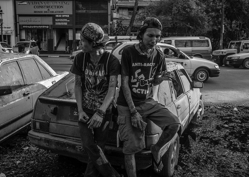 Панк в условиях военной диктатуры: Фотопроект Грега Холланда. Изображение № 8.