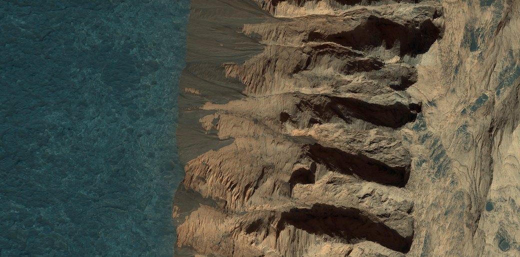 Новые фотографии поверхности Марса, опубликованные агентством NASA. Изображение №5.
