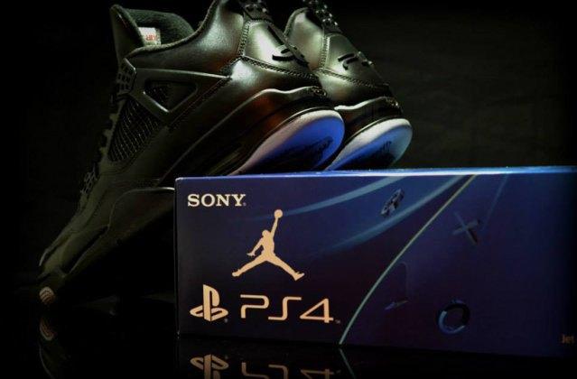 Air Jordan выпустили кроссовки, вдохновлённые PS4, с HDMI. Изображение № 1.