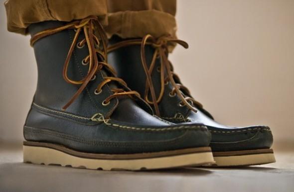 Весенняя коллекция обуви марки Oak Street Bootmakers. Изображение № 1.