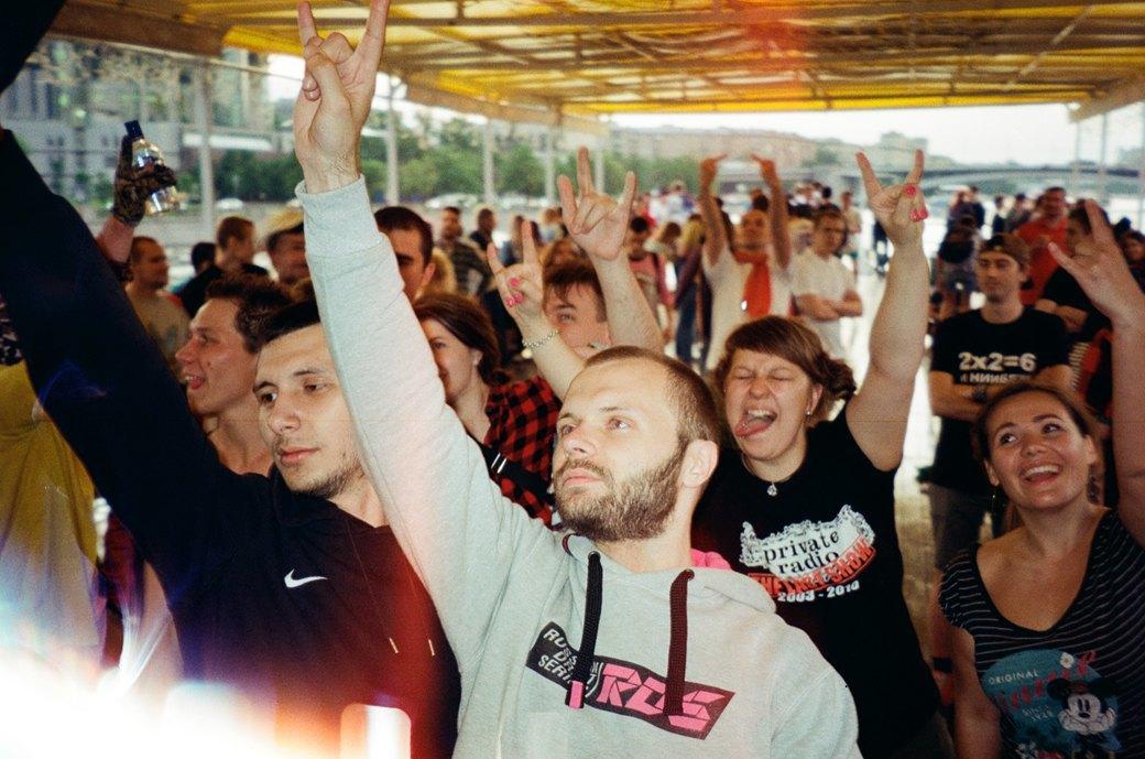 Фотоотчёт: «Панк-корабль» на Москве-реке. Изображение № 1.