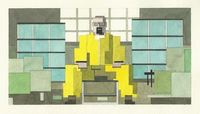 Адам Листер: Иконы поп-культуры в 8-битной живописи. Изображение № 9.