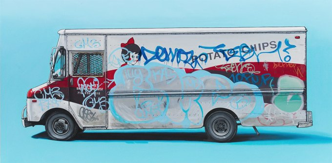 Кевин Сир: Граффити на фургонах как символ города. Изображение № 15.