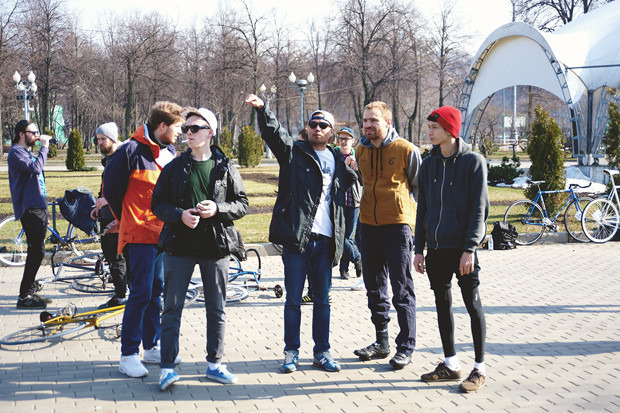Детали: Фоторепортаж с открытия велосезона Fixed Gear Moscow. Изображение №29.