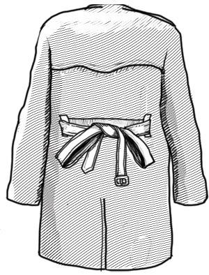 Совет: Как завязывать пояс на тренче. Изображение № 6.