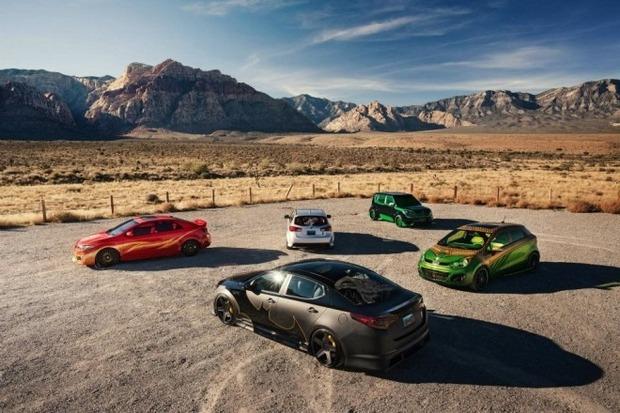 Kia показала пять из восьми «супергеройских» автомобилей. Изображение № 2.