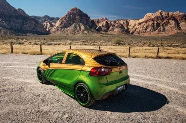 Kia показала пять из восьми «супергеройских» автомобилей. Изображение № 4.