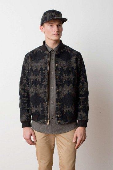 Марка Pendleton выпустила лукбук осенней коллекции одежды. Изображение № 9.