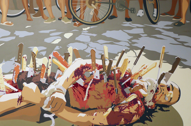 В Москве состоится выставка картин основателя марки SSUR Руслана Караблина. Изображение № 1.