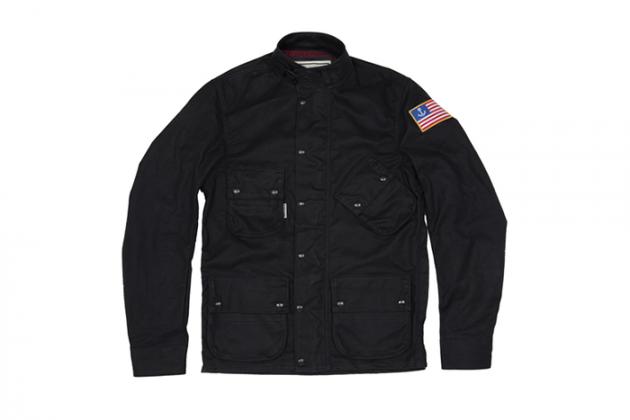 Марка Vanson представила куртку в коллаборации с Iron & Resin. Изображение № 8.