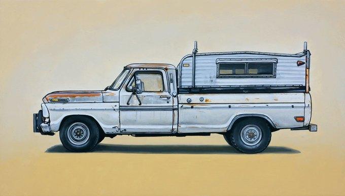 Кевин Сир: Граффити на фургонах как символ города. Изображение № 14.