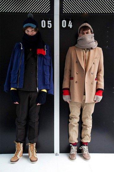 Марка Band Of Outsiders опубликовала лукбук осенней коллекции одежды. Изображение № 1.