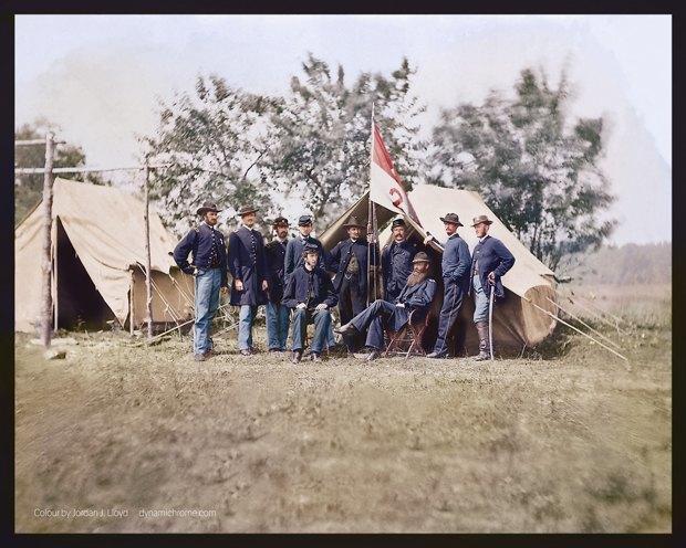 Опубликованы раскрашенные фотографии времен Гражданской войны в США. Изображение № 6.