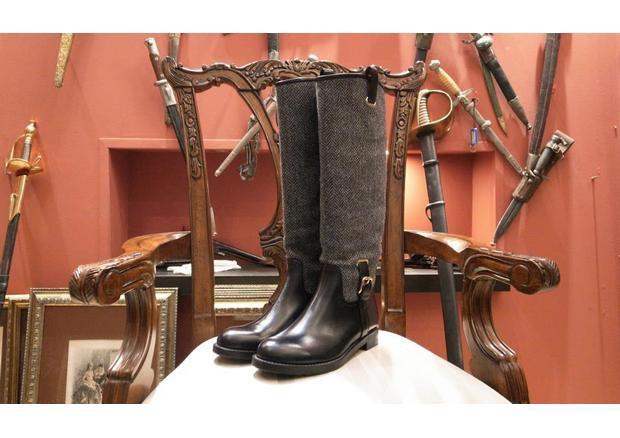 Московская марка «Мастерская 55» выпустила осеннюю коллекцию обуви. Изображение № 4.