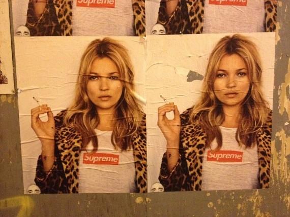 Кейт Мосс снялась в рекламной кампании Supreme. Изображение № 9.
