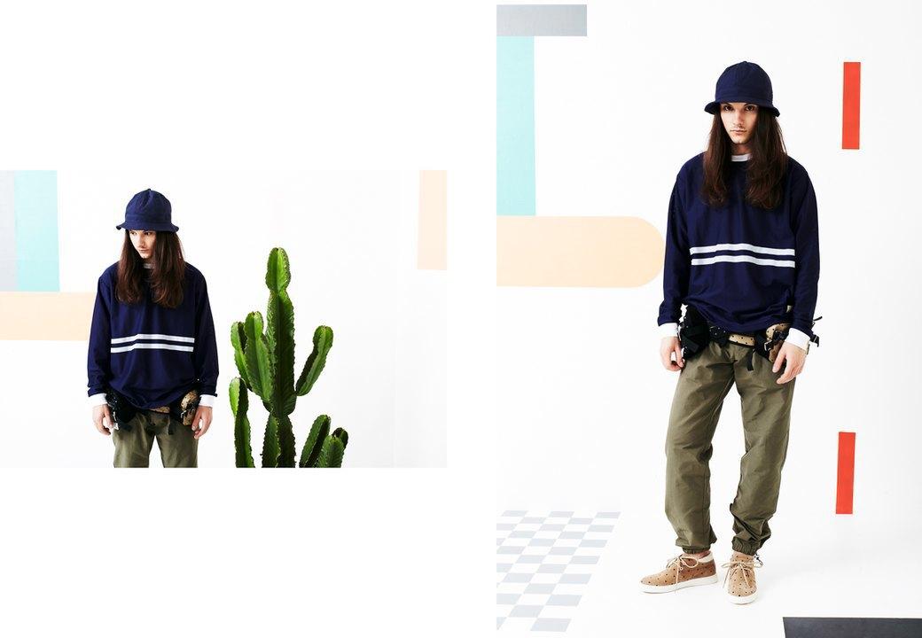 Магазин Kixbox выпустил лукбук весенней коллекции одежды. Изображение № 8.
