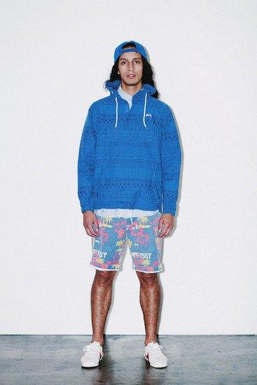 Марка Stussy опубликовала лукбук весенней коллекции одежды. Изображение № 4.