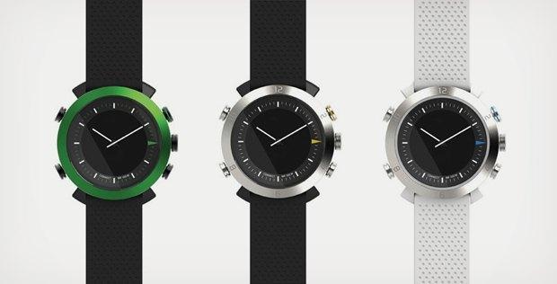 Дизайнерское бюро ConnecteDevice выпустили первые аналоговые «умные» часы. Изображение № 4.
